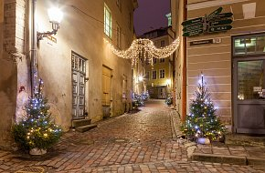 Christmas in Old Town and Old Bohemian Lane in Panská st.